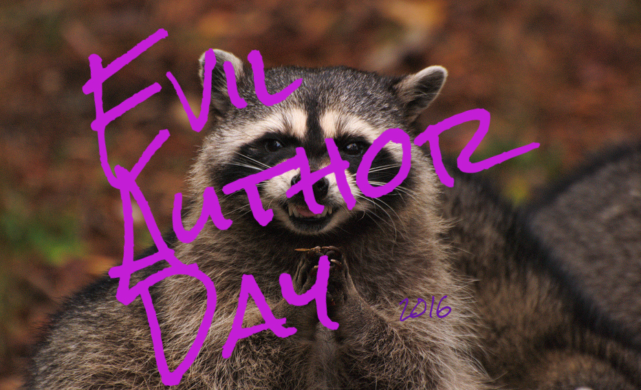 Evil Author Day 2016